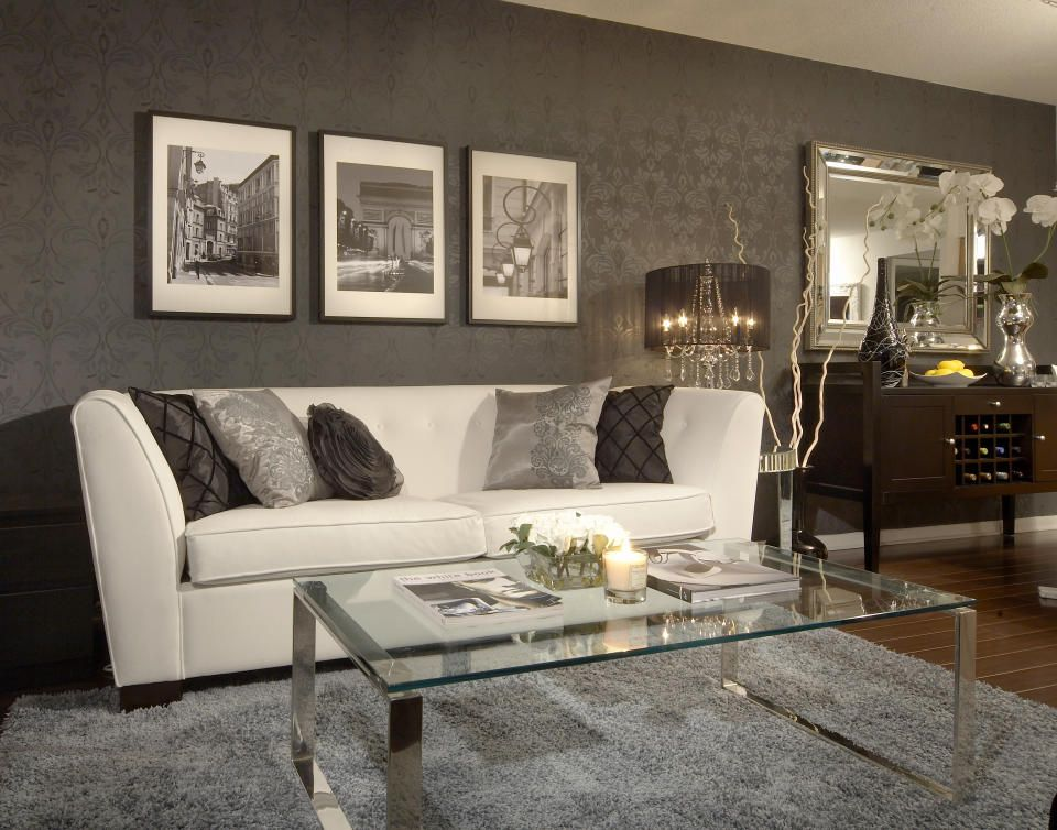 High Quality Toronto Transitional Living Room Design By Lux Design · Condo Interior ...