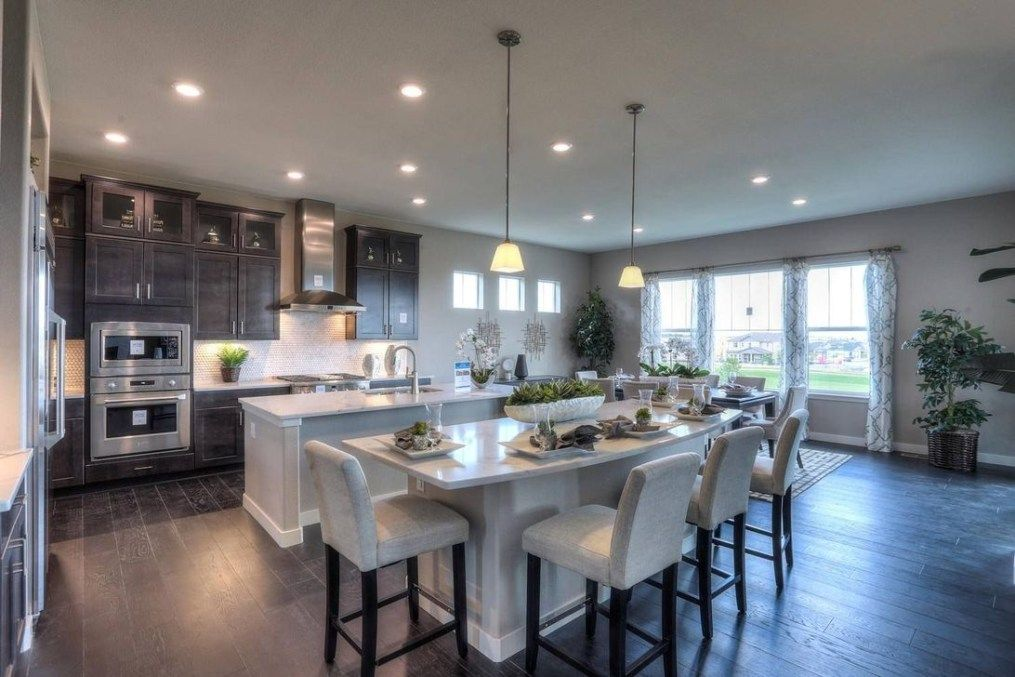 38 Inspiring Kitchen Island Decoration Ideas Trendehouse Kitchen Layout Kitchen Inspirations Double Oven Kitchen