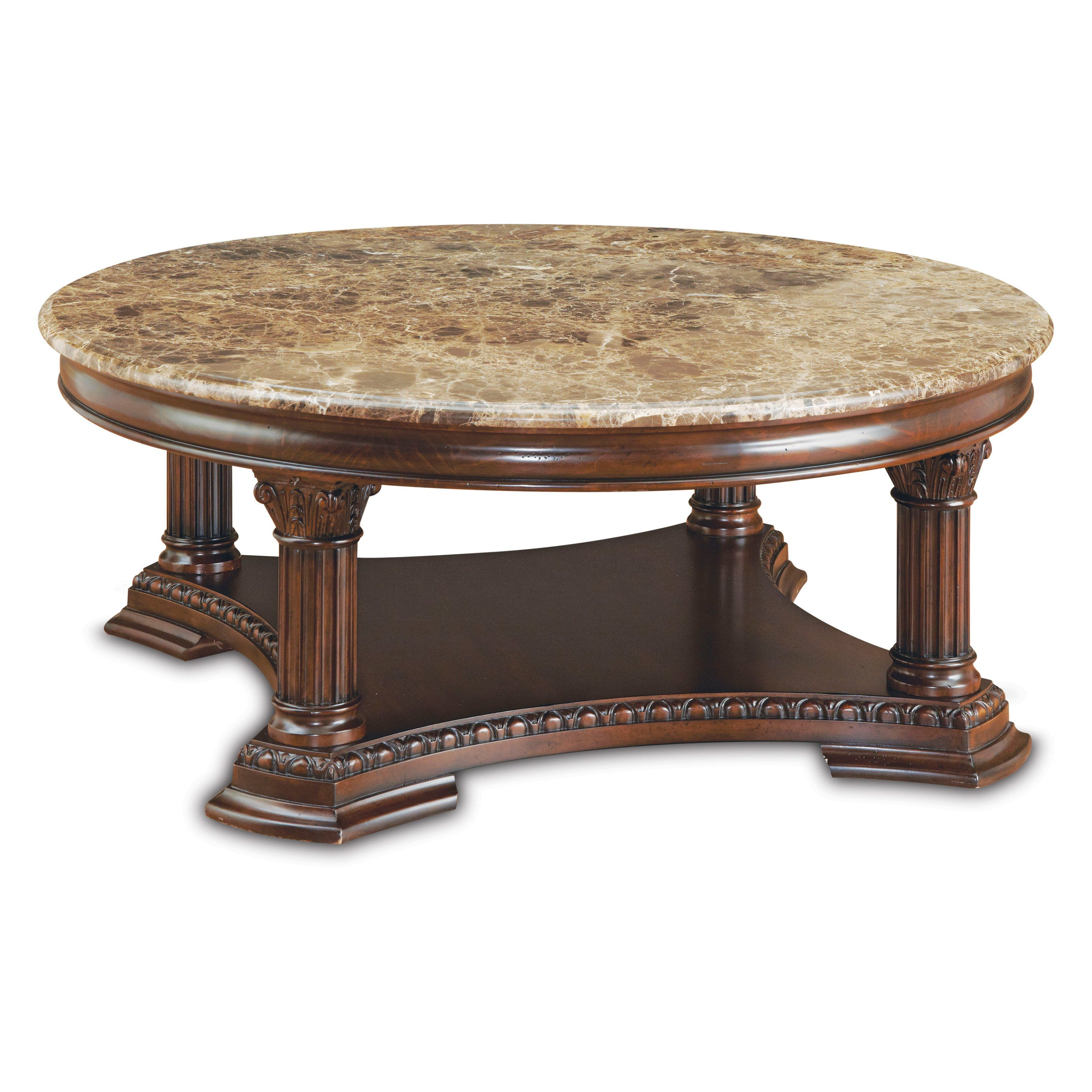Furniture Capri Round Coffee Table