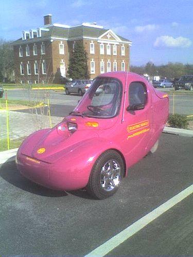 An Electric 3 Wheeled Car Electric Cars Futuristic Cars Three