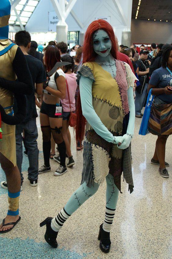 Christmas Halloween Costumes Diy.Diy Nightmare Before Christmas Sally Costume Halloween