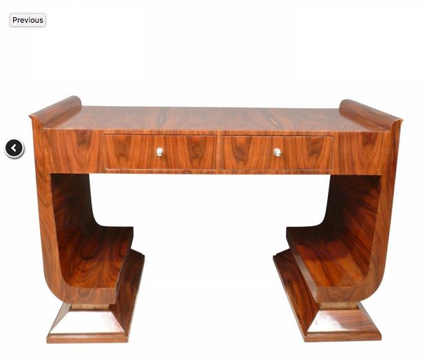 Bureau Art Deco En Palissandre Meubles Art Deco Meubles Art Deco Art Deco Mobilier De Salon