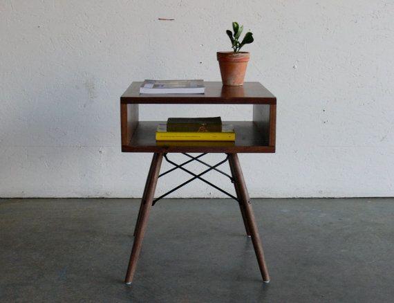 RESERVED LISTINGMid Century Modern Inspired Side Table Best Mid - Midcentury modern side table