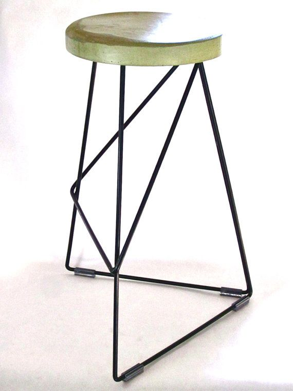 Bar Chairs Concrete Adams Manufacturing Industrial Steel Coleman Stool By Gretadeparry 319 00