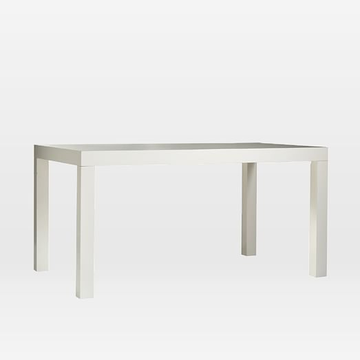 Parsons Dining Table Rectangle West Elm 60 X36 30 H