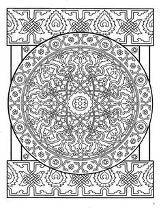 Hippie Dover Designs For Coloring