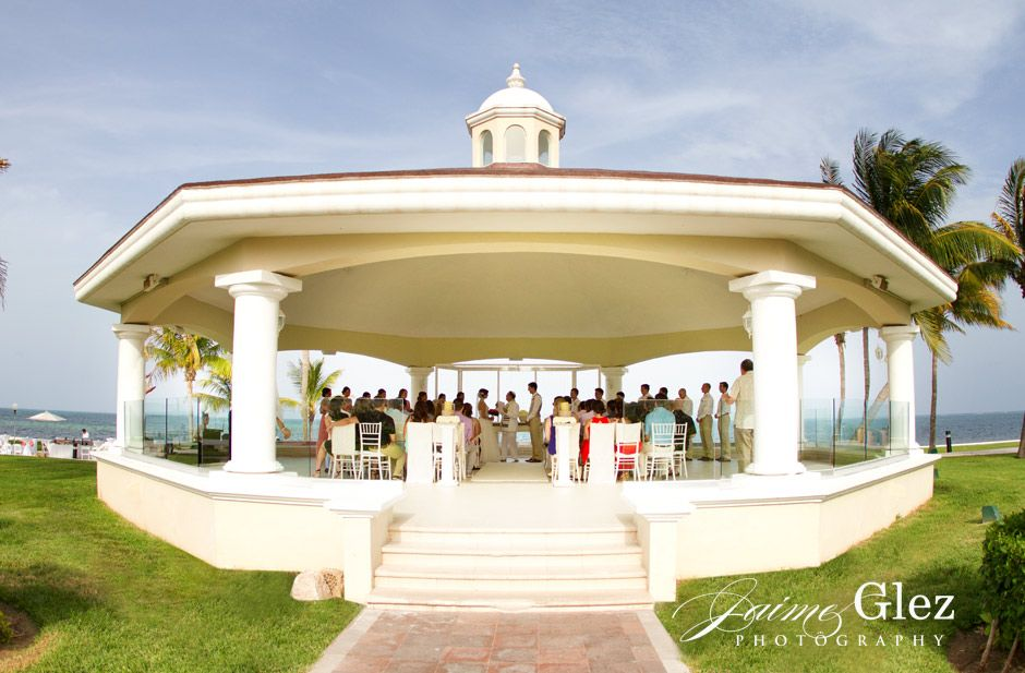Very Special Wedding Ceremony At The Moon Palace Riviera Maya