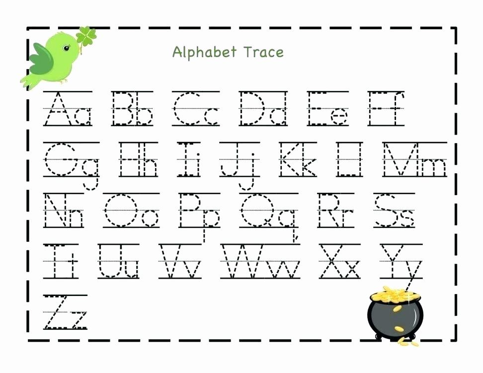 Number Tracing Worksheets for Kindergarten Free Name