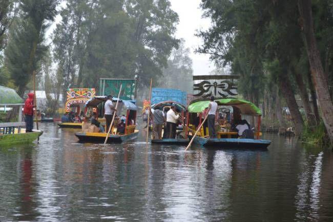 Felicidad al Estilo Xochimilco.