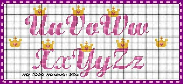 Pin De Marichelle Jayme Em Cross Stitch Alphabet Com Imagens