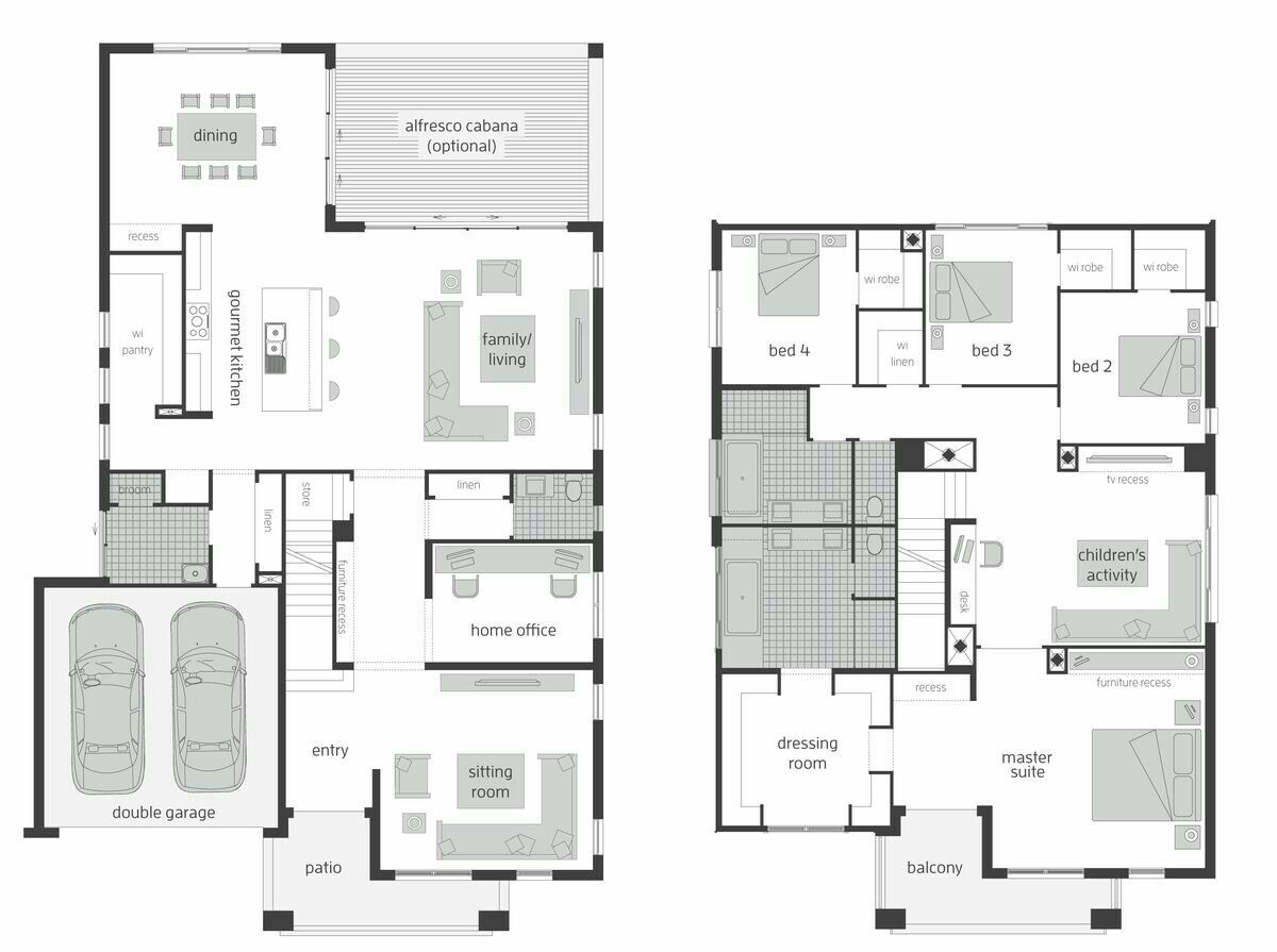 Pin By Wairimu Muniu On House Plans Two Storey House Plans