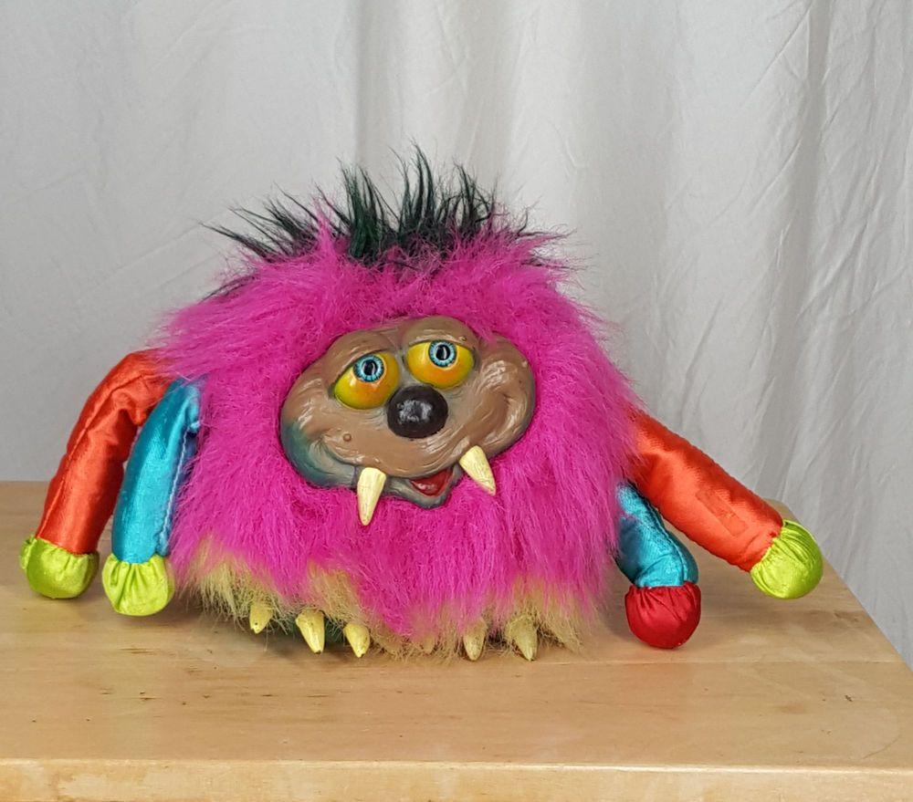 Vintage Los Temblors My Pet Monster Plush Doll Toy By Vir Pet Monsters Plush Dolls Doll Toys