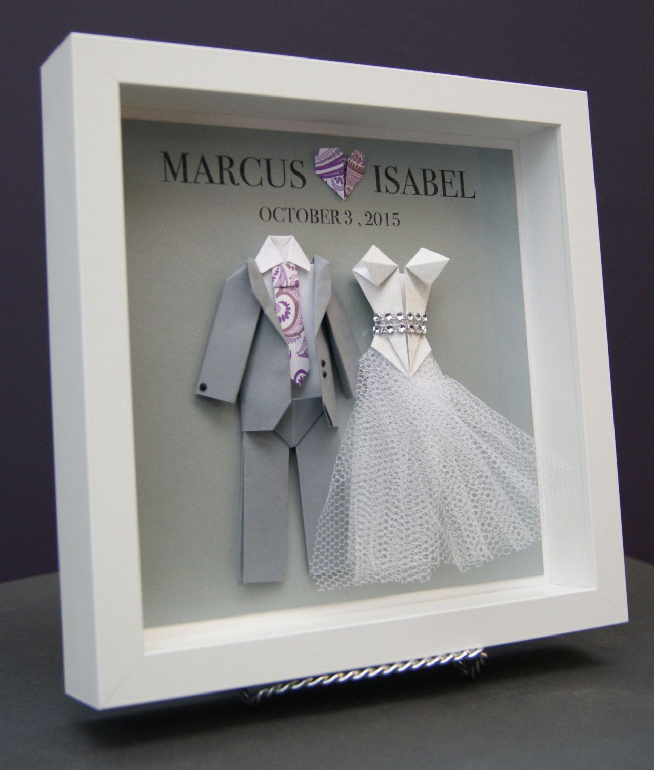 Personalized Bride And Groom Frame Wedding Gift First