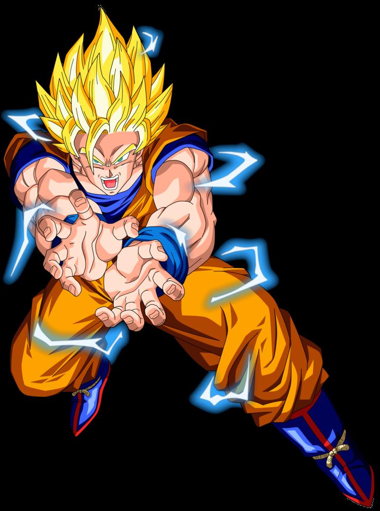 kamehameha Son Goku by EdicionesZ3000 | Dragon Ball Z ...