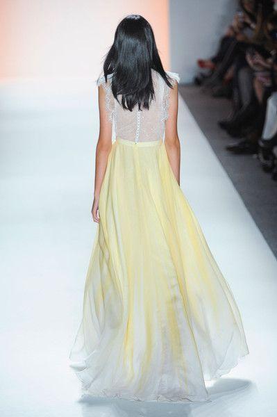 jenny packham spring 2012 scalloped chiffon dress - Google Search