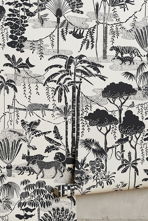 Jungle Dream wallpaper by Aimee Wilder for Anthropologie