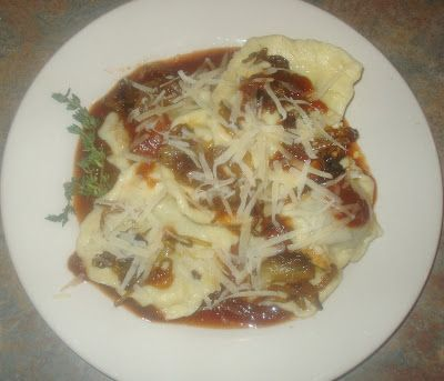 FOODIE: Braised Lamb Ravioli with Caramelized Onions and Parmesan