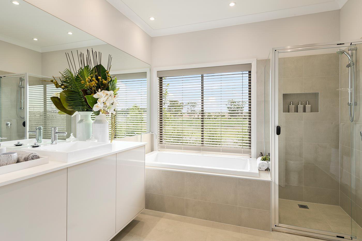 Essington - Images | McDonald Jones Homes | main bathroom ...