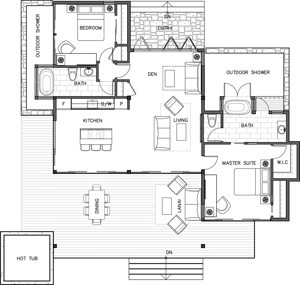 Beach House Floor Plans, Home