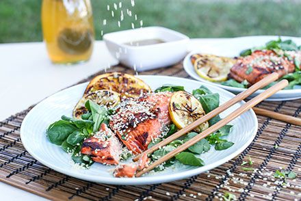Grilled salmon miso recipes