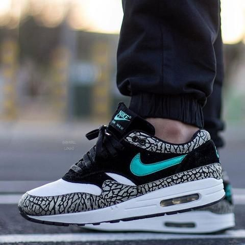Laced Up Laces x Nike Air Max 1 ATMOS - Elephant  b259f1f95