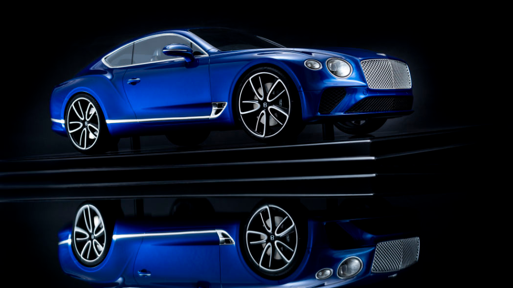 Bentley Continental GT gets 18 scale model that costs