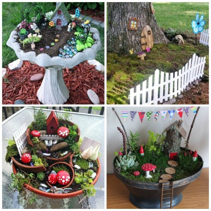 10 Amazing Miniature Fairy Garden Ideas   DIY For Life