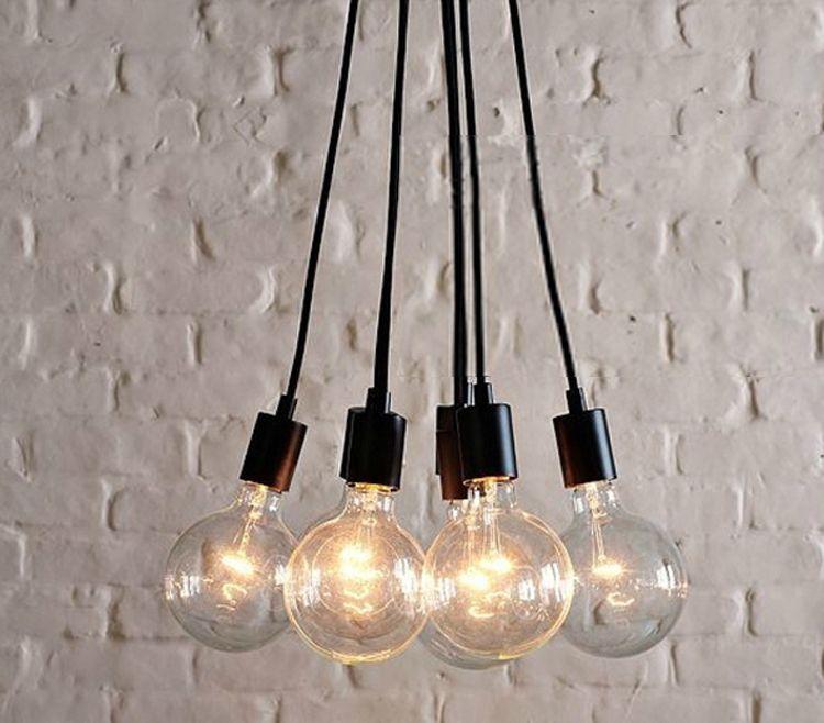 Envío gratuito colgantes luminaria Retro araña clásicos luces ...