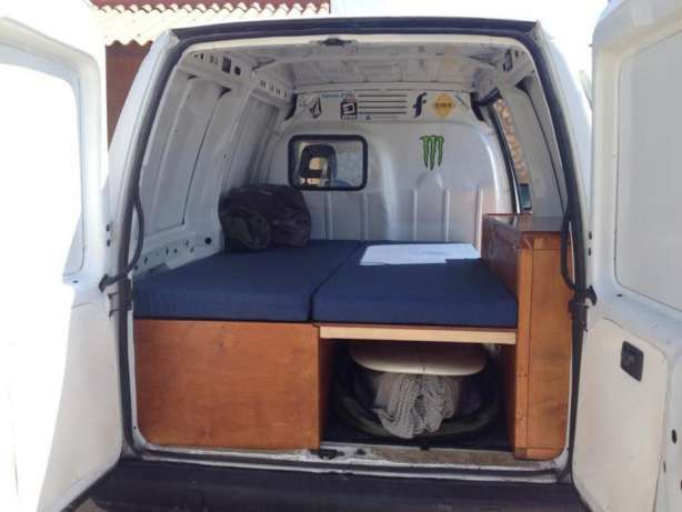 citroen jumpy camper peniche imagem 4 camper van. Black Bedroom Furniture Sets. Home Design Ideas