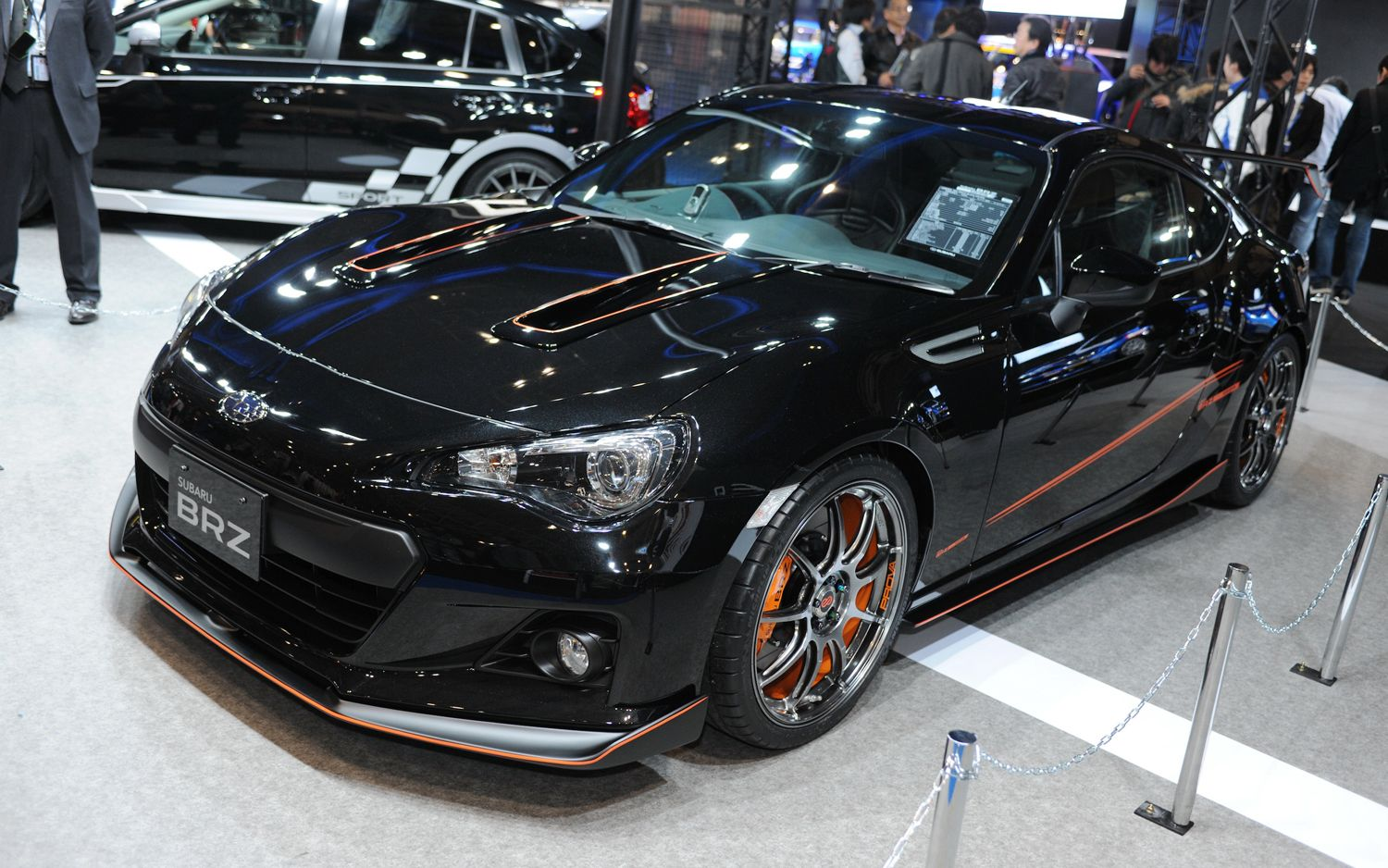 Subaru brz black edition