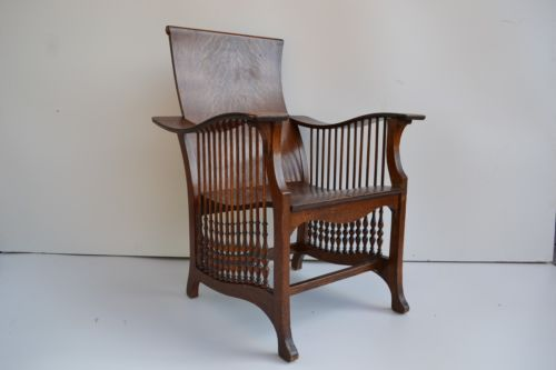 Oak Original Antique Chairs | eBay - US $600.00. Oak Morris Chair In Antiques, Furniture, Chairs, 1900