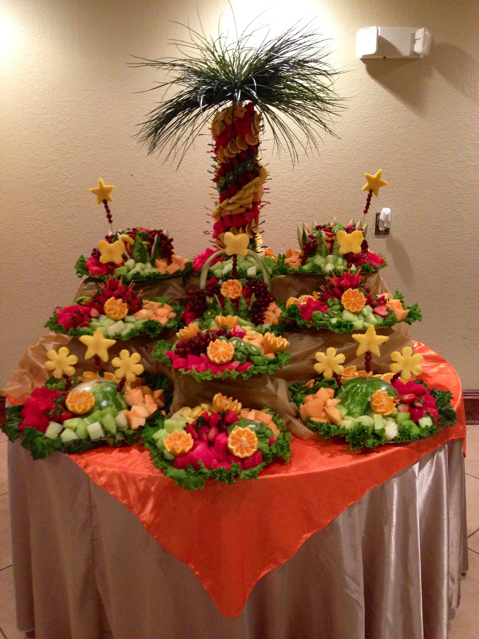 Fruit Table Www.facebook.com/IncredibleFruitArrangements In Houston,Tx