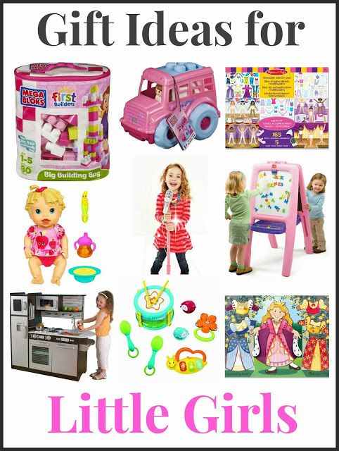 Gift Ideas for Toddler and Preschool Girls. Includes info on how most any  toy can be a