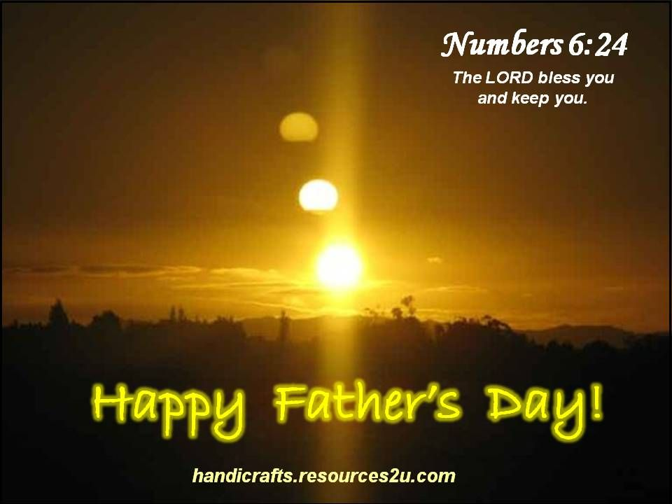 Christian Happy Father's Day Bible Verse -->Read one man's AMAZING ...