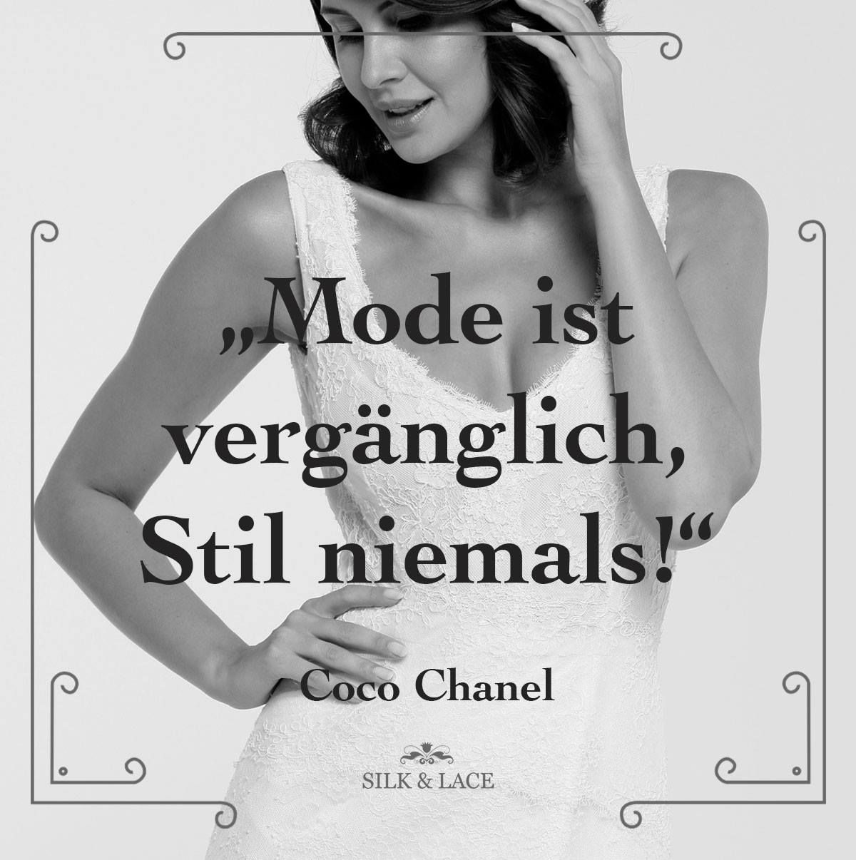true spruch wahr stil mode zitate coco chanel. Black Bedroom Furniture Sets. Home Design Ideas