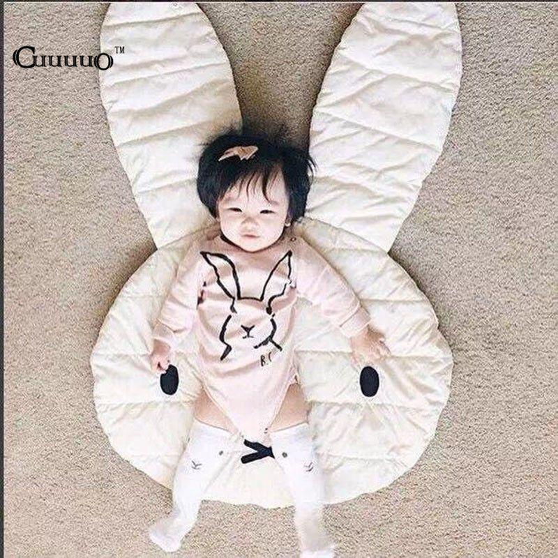 couverture sol bébé INS Nouveau Beau Lapin Ramper Couverture Tapis de Sol Bébé Tapis  couverture sol bébé