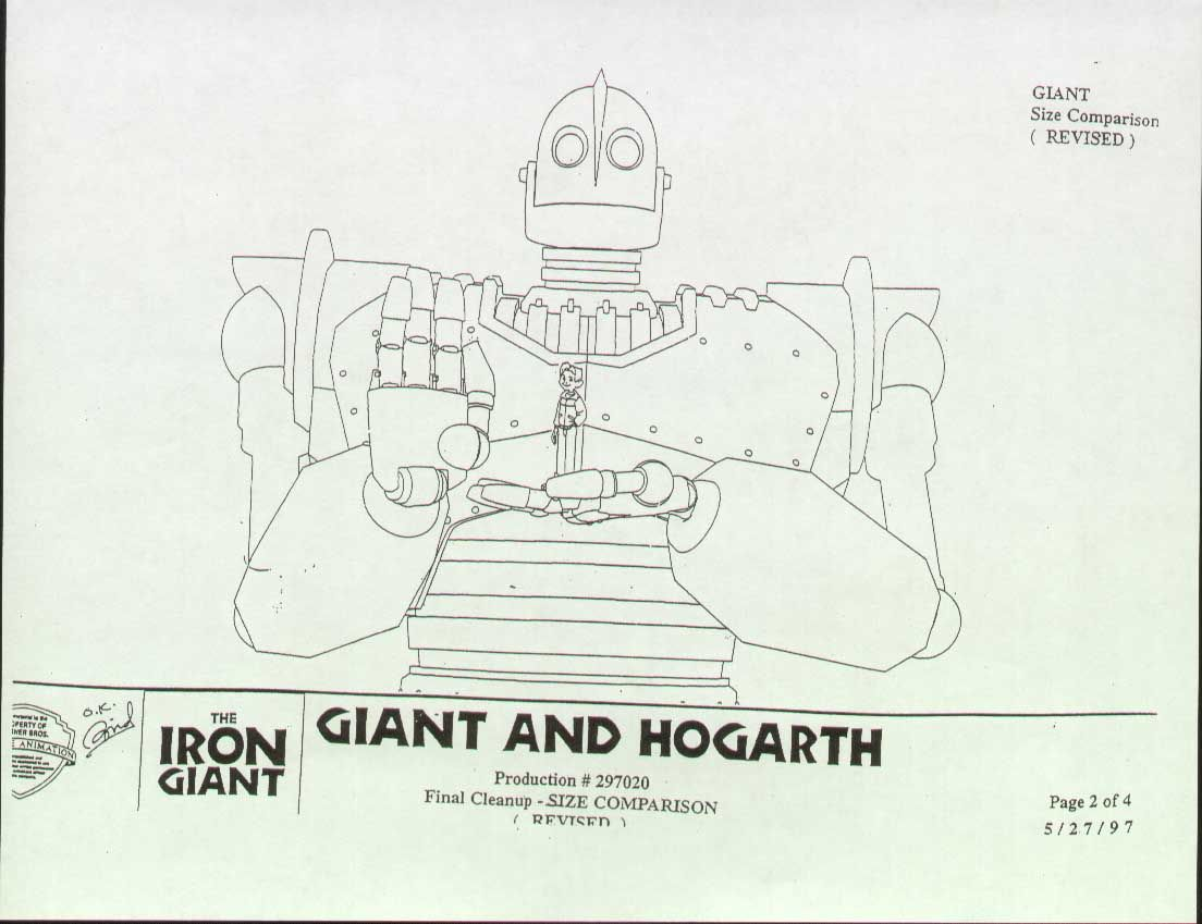 Image Result For Iron Giant Model Sheet The Iron Giant