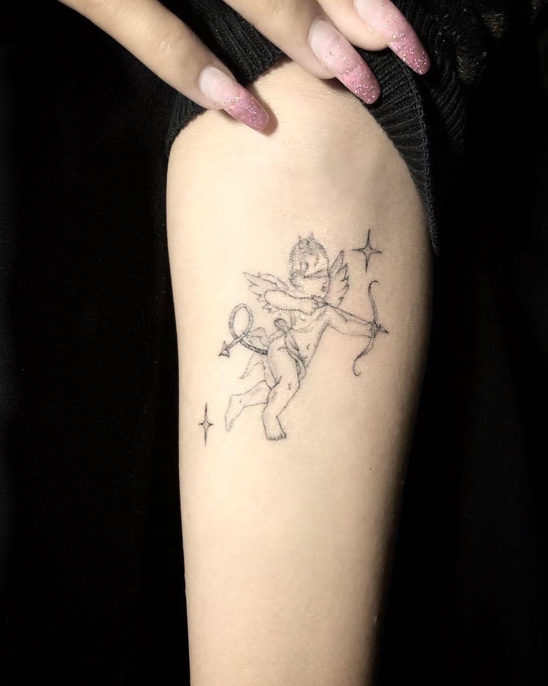 Fine Line Tattoo Los Angeles : tattoo, angeles, ꧁aῠ́tsch꧂