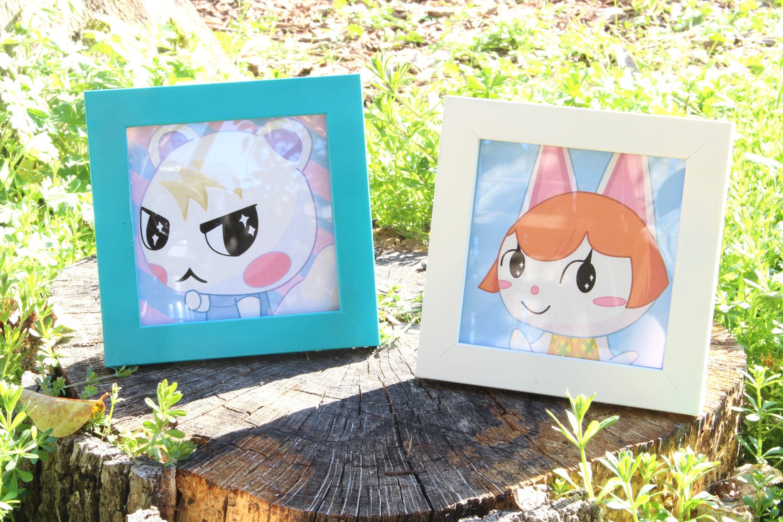 Animal Crossing Framed Villager Portrait Pics Art Prints Any