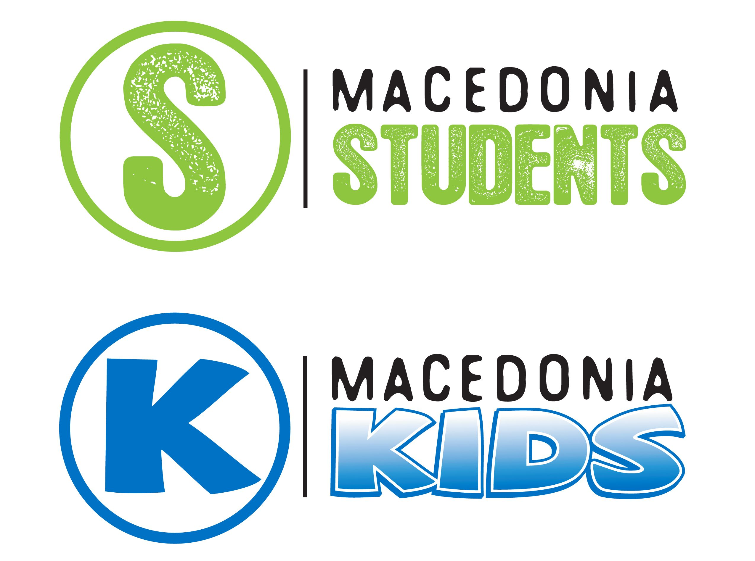 Ministry Logos We Created For Macedonia Christian Church A Kids