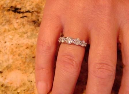 recipe: .25 carat diamond ring on finger [35]