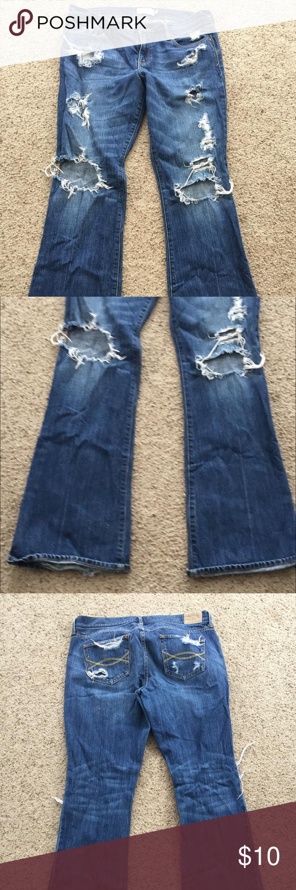 Abercrombie and Finch Jeans Size 8 Abercrombie and Finch Jeans Abercrombie & Fitch Jeans Boot Cut