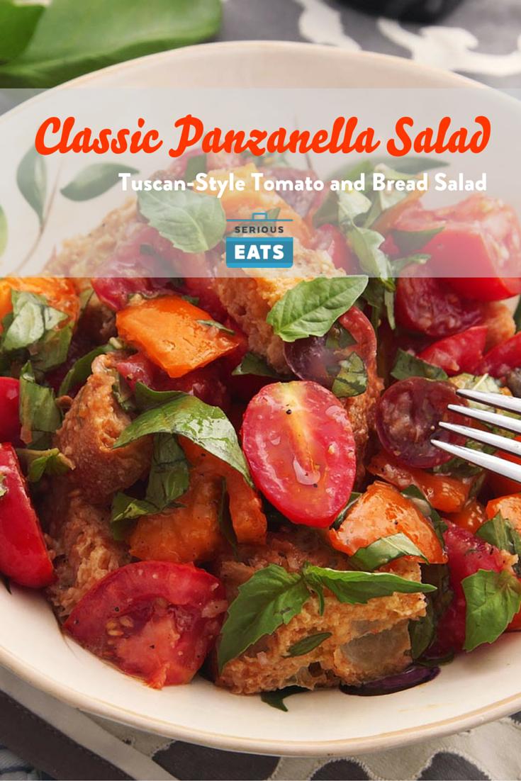 Classic Panzanella Salad Tuscan Style Tomato and Bread Salad