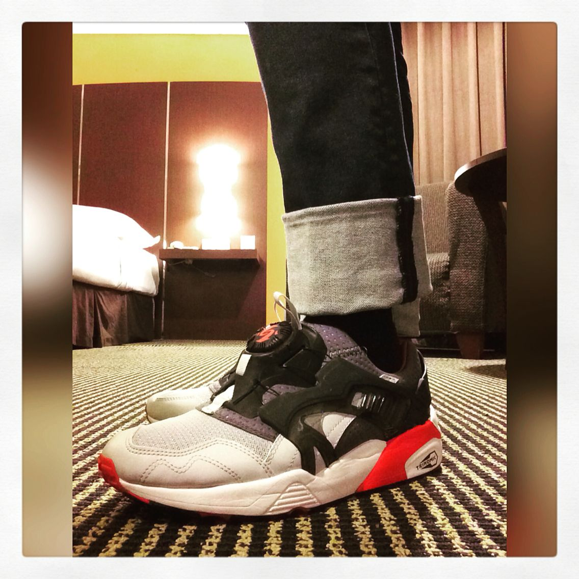 New years sneakers! Powered by Puma #Puma #PumaDisc #PumaDiscTrinomic #Trinomic