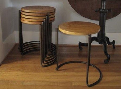 A stackable stool is a pretty smart buy, as you'll not be caught without extra seating if a whole load of friends stop by (we all know how popular you are). Plus, this stackable stool by Atel…
