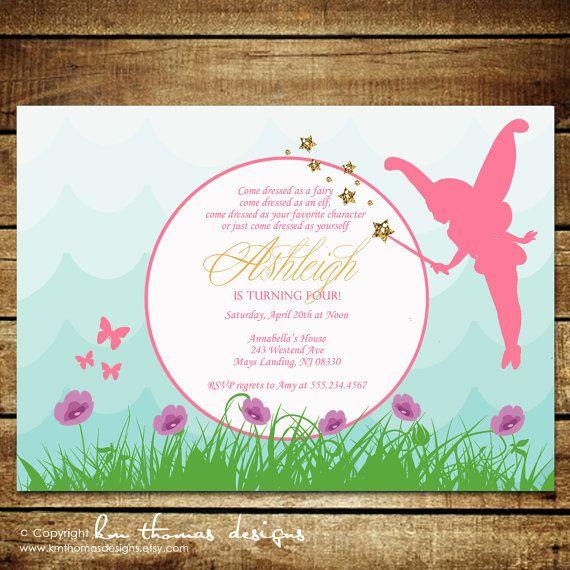 Garden fairystom printable birthday invitations km thomas custom printable birthday invitations km thomas designs filmwisefo Images