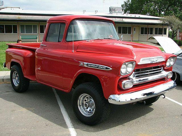 1959 Chevrolet Apache 31 Neils 59 1 Chevrolet Trucks Chevy
