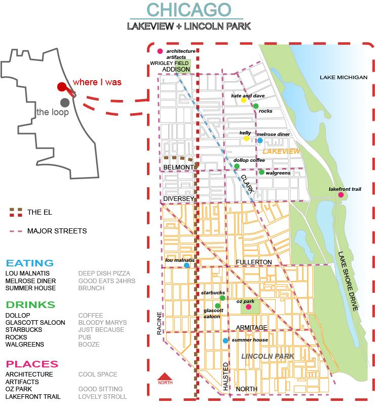 Sonyalive Lincoln Park Lakeview Map Chicago M A P P I N G