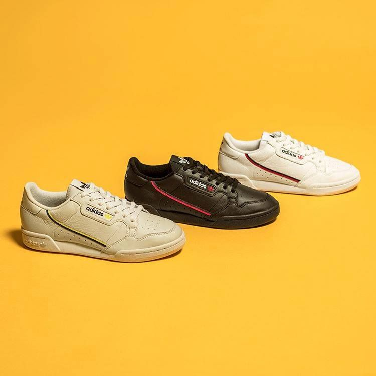 separation shoes 22874 2c8fb The adidas Continental 80 is online and footlockereu dropped an exclusive  Colorway adidas
