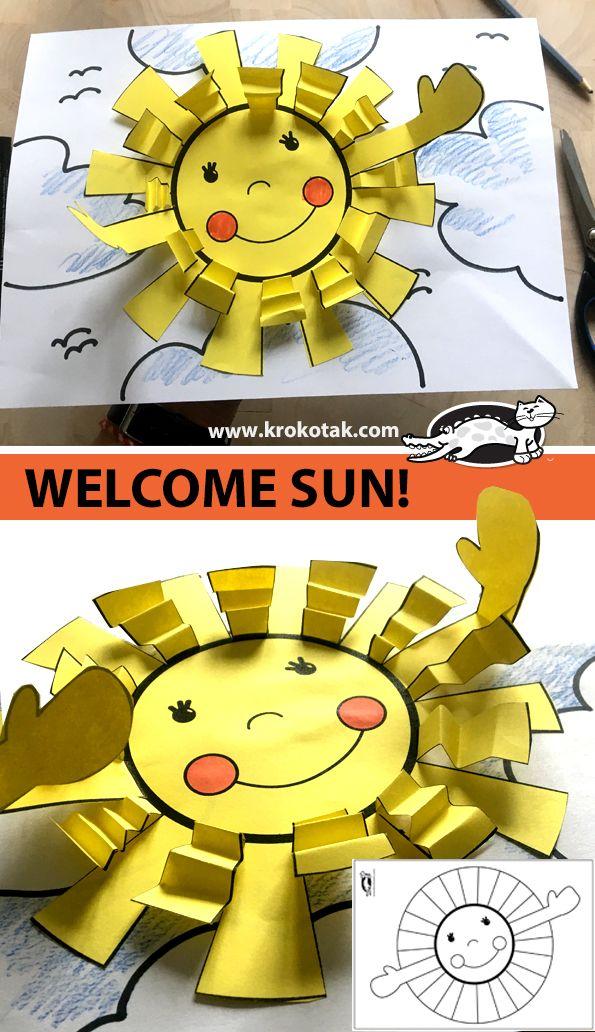 WELCOME SUN!